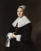 Hals, Dame met handschoen (Velsink 2011)